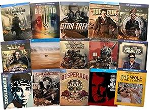 Ultimate Blu-ray Steelbook 15-Movie Collection: Star Trek (09)/Star Trek: Into Darkness/Star Trek: Beyond/Top Gun/World War Z/Lawrence of Arabia/Zoolander/Hunt for Red October/Desperado & More [Blura