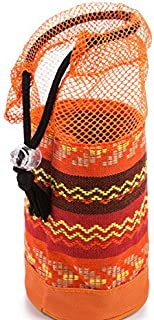 TT WARE Outdoor Camping Portable Drawstring PouchNational Tableware Cup Storage Sack-Orange