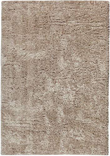 Vivaraise ~ Miky tapijt in polyester kleur linnen 160x230