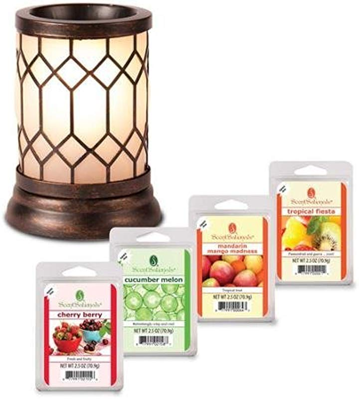 ScentSationals Wax Warmer Starter Set Bronze Lantern