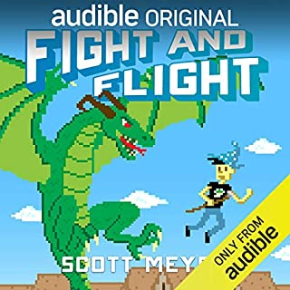 Fight and Flight audiobook cover art