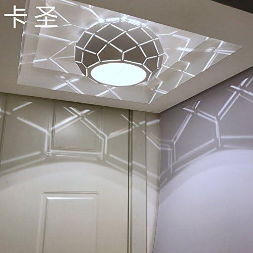 KANG@ Plafond Lustre moderne Led Luminaire pour chambre à coucher salle de séjour cuisine Bar Couloir,3W Lumière blanche installé,