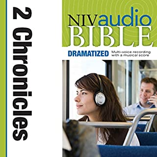 Dramatized Audio Bible - New International Version, NIV: (13) 2 Chronicles audiobook cover art