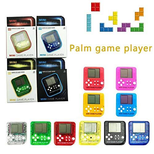 FOONEE edc 26in1Bambini Tetris Console Portatile Portatile Mini Game Handheld Giocattoli Portachiavi Antistress per Videogiochi