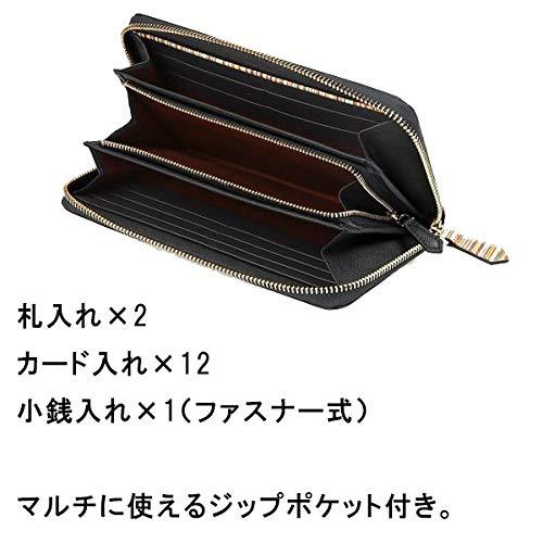 PaulSmith(ポールスミス)『ジップストローグレイン長財布』