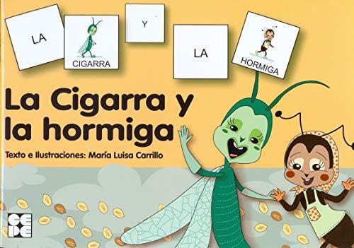 Pictogramas: La Cigarra y la Hormiga: 18 (Pictogramas: lecturas fáciles para niños con dificultades)