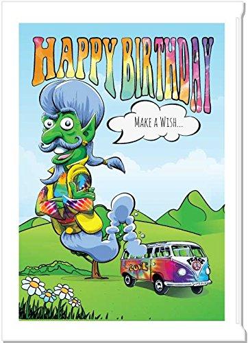 Birthday Gift Bag for Marijuana/Cannabis (VW Genie)