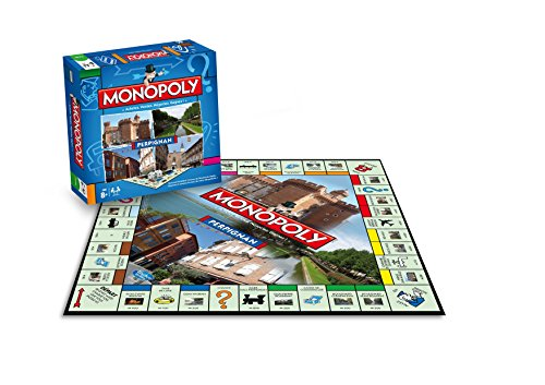 (Perpignan Monopoly) - Winning Moves - Monopoly Board Game - Cities