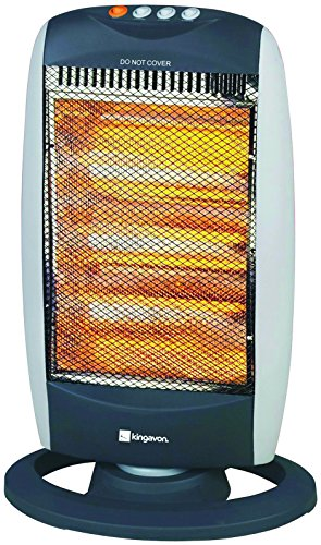 PORTABLE HALOGEN ELECTRIC HEATER 1200W FOR HOME...