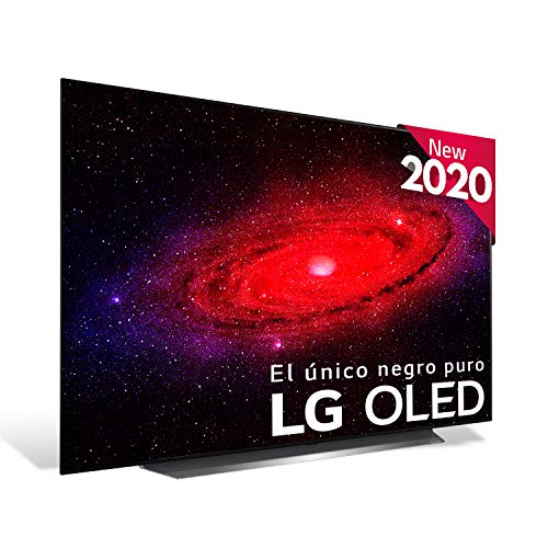 "LG OLED55CX-ALEXA - Smart TV 4K OLED 139 cm (55"") con Inteligencia Artificial, Procesador Inteligente α9 Gen3, Deep Learning, 100% HDR, Dolby Vision/ATMOS, HDMI 2.1"