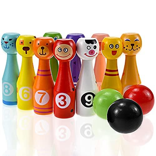 YEAR OLD Juguetes para niños de 3 a 6 años, juguetes al aire libre para niños de 2 3 4 5 6 años, niñas de madera para niños, regalos educativos para niños de 2 a 6 años