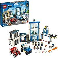 LEGO City Police - Comisaría de policía, juego de construcción, incluye celda de juguete, para niños y niñas a partir de 6 años (60246)