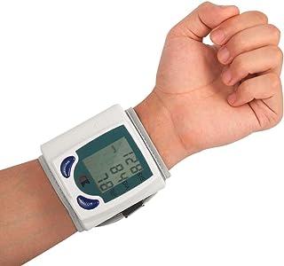 ZUEN Inicio Automático De Muñeca LCD Digital De Monitor De Presión Arterial Portátiles Tonómetro Mide para El Metro De La Presión Arterial