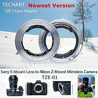 Techart TZE-01 - Adaptador de Lente para Sony FE para Nikon Z6 Z7