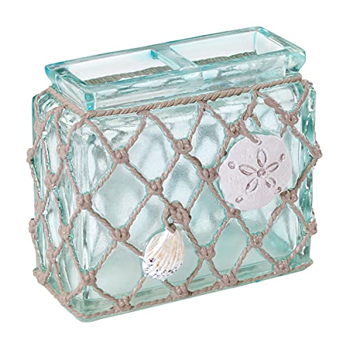 Avanti Linens Seaglass Collection, Toothbrush Holder, Multi