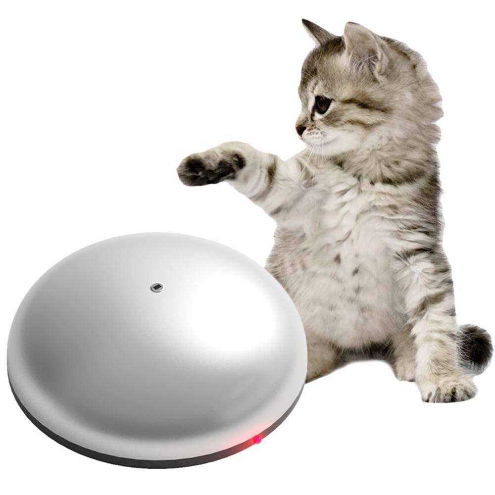 Fewao Juguete divertido para gatos, robot de barrido, juguete para gato, sensor inteligente de 360°, aspiradora automática robot 2 en 1, multifunción, máquina de succión para mascotas eléctrica: Amazon.es: Hogar