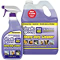 "SIMPLE GREEN Pro HD ""Purple"" Concentrated Cleaner & Degreaser - Heavy Duty, Professional, Automotive, Restaurant, Kitchens, Grills, Ovens - 32 oz Spray and 1 gal Refill (Pack of 2)"