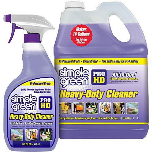 Pro HD'Purple' Concentrated Cleaner & Degreaser - Heavy Duty, Professional, Automotive, Restaurant, Kitches, Grills, Ovens