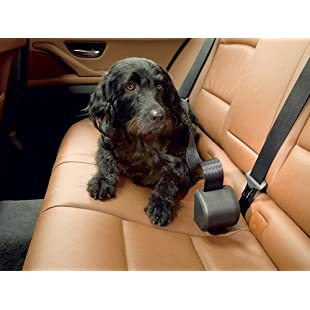 Click N Roll Automatic Retractable Dog Seatbelt System by 4x4 North America