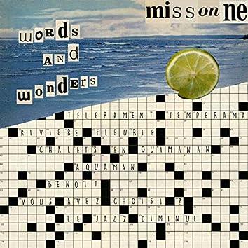 Words and Wonders