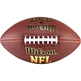 Wilson, Palla da football americano, NFL Force, Materiale composito, Marrone, Per giocatori amatoriali, WTF1445X