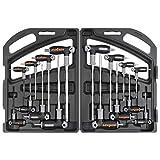 HORUSDY 16-Piece T-Handle allen wrench set 2mm-10mm,...