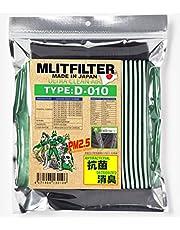 エムリットフィルター トヨタ レクサス スバル ダイハツ 73車種に対応 エアコンフィルター D-010 花粉対策 抗菌 抗カビ 防臭