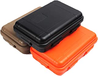 YaptheS Outdoor Plastic Waterproof Shockproof Box Airtight Survival Case Container Storage Carry Box Outdoor Survival Set Box 3pcs