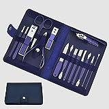 Nagelknipser Set Maniküre Werkzeuge Set Edelstahl Professionelle Nagelknipser Set Pediküre...