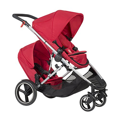 Fantastic Deal! Phil and Teds Voyager Stroller WITH Doubles Kit (Chilli)