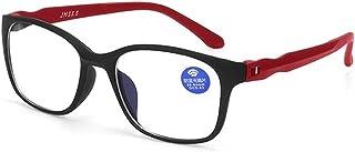 Computerbril Anti Blue-Ray Anti-Fatigue Eyewear UV200 Ultralight Lezen Gaming Flat Spiegel Glasse 9.23 (Frame Color : Red)