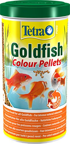 Tetra - 203402 - Pond Goldfish Colour Pellets - 1 L