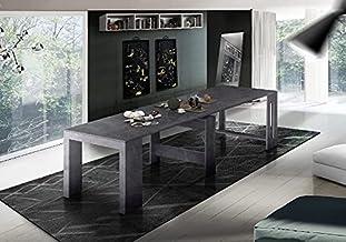 طاولة وحدة التحكم من تشكيلة براتيكا موفرة للمساحة ومتعددة الاغراض، قابلة للتمديد - لغرفة المعيشة وغرفة الطعام والرواق والم...