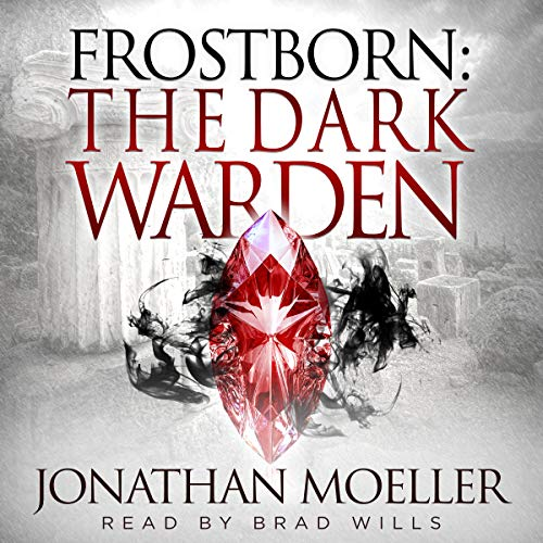 Frostborn: The Dark Warden audiobook cover art