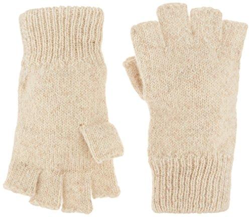 BOSS Handschuhe 244LL Large Fingerlose Ragg Wolle Handschuhe