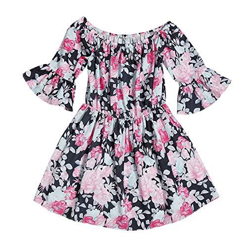 Mulampli Mom Baby Girl Summer Family Matching Clothes Mãe e Filha Vestidos Saia Banco Casual Saia, Mom, Small