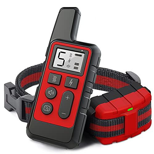 NXL Collar De Adiestramiento Perros Rango De 300 Metros Recargable Resistente Al Agua Pitido De Alerta Y Modo De Vibración Collar Antiladridos Sin Descarga Eléctrica