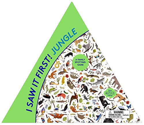 I Saw It First! Jungle: A Family Spotting Game (Magma for Laurence King)