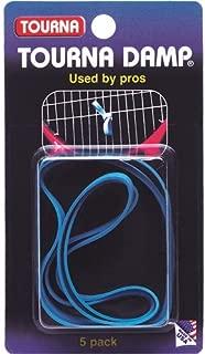 Unique Tourna Damp Tennis String Vibration Dampener-Shock Absorber-5 Pack
