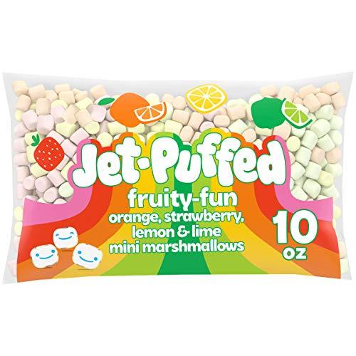 JetPuffed Fruity Fun Miniature Marshmallows 10 oz Bag