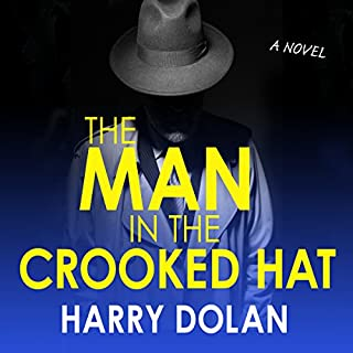 The Man in the Crooked Hat audiobook cover art