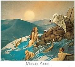 Dragon Fly Michael Parkes Fantasy Mystical AnimalsPrint Poster 31.5x27.5