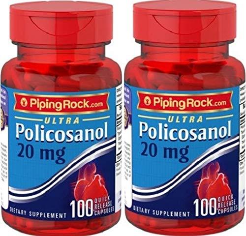 2 Policosanol Ultra, 20 mg, 100 Cápsulas