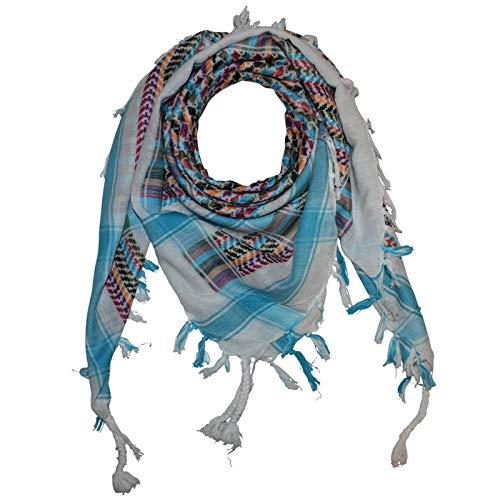 Superfreak® Pañuelo pali multicolor°chal PLO°100x100 cm°Pañuelo palestino Arafat°100% algodón – Todos los colores y batik