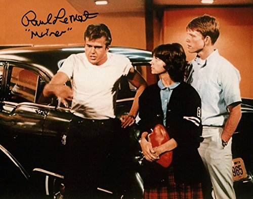 Paul Le Mat Signed Autographed 8X10 Photo American Graffiti'Milner' Talking COA