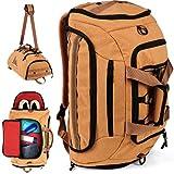 Alpen Zebra® Reisetasche aus Kork | mit Schuhfach und Nassfach | Sporttasche für Herren & Damen | für Sport, Reise & Co | ideal als Handgepäck, Trainingstasche oder Rucksack