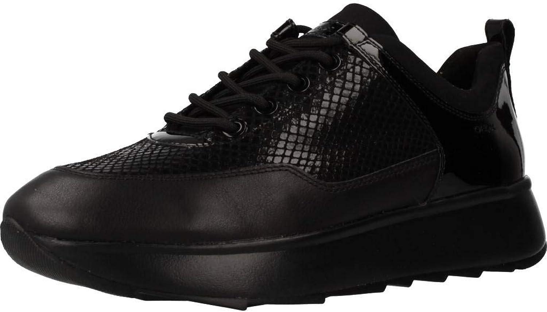 Geox Damen Laufschuhe, Farbe Schwarz, Marke, Modell Modell Damen Laufschuhe D925TB Schwarz  60% Rabatt