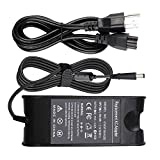 19.5V 4.62A PA-10 PA10 AC Power Adapter Charger Compatible for Dell Inspiron 14 15 17 14R 15R 17R N4010 N4110 N7010 N7110 N5010 N5011 N5030 N5040 N5050 6000 6400 Power Supply