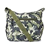 PureWild Men's Polyester 12 L Casual Cross Body Sling Bag for Travel Office