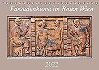 Fassadenkunst im Roten Wien (Tischkalender 2022 DIN A5 quer): Kunstgalerie der Arbeiter (Monatskalender, 14 Seiten )